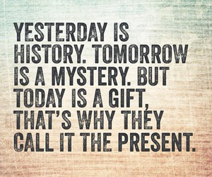 gift, quote, and today image