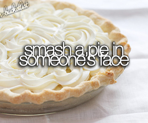 pie, face, and bucket list image