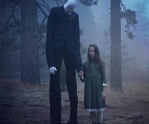 slenderman, slender, and horror image