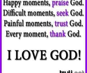 god, happy, and love image