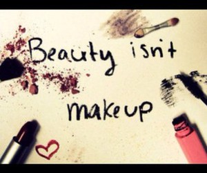 beauty, makeup, and quote image
