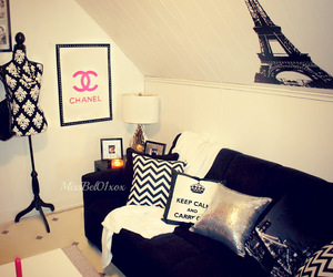 chanel, paris, and room image