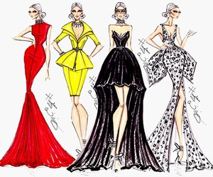 fashion, dress, and hayden williams image