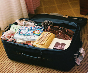 vintage, travel, and bag image