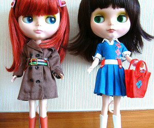 blythe, doll, and dolls image