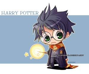 cute and harry potter image