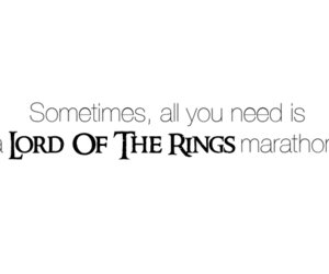 LOTR and lord of the rings image