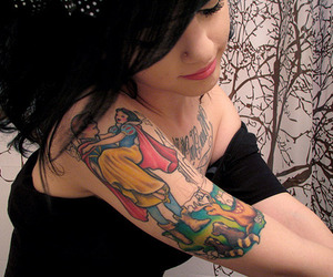 girl, tattoo, and tiffany mays image