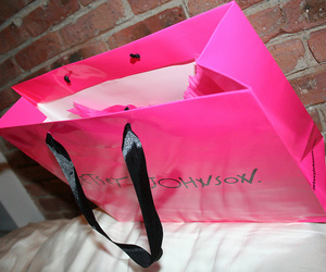 pink and shopping image