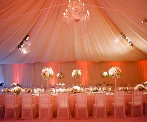 chandelier and wedding image