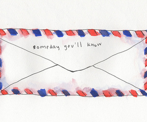 Letter, someday, and quotes image