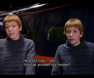 harry potter, boy, and Fred image