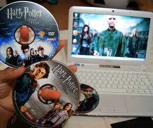 harry potter, photography, and dvd image