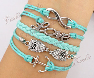 bracelet, love, and infinity image