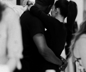 kim k, love, and k west image