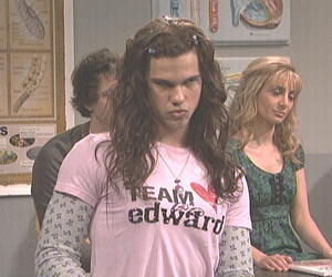 Taylor Lautner, twilight, and funny image