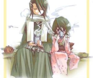 anime, kuchiki, and byakuya image