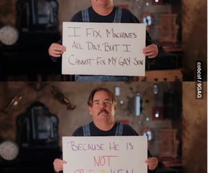 gay, father, and fix image