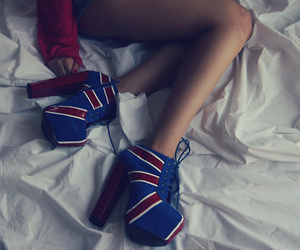 shoes, fashion, and high heels image
