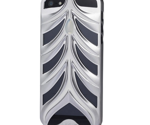 cheap iphone 5 cases and silver & white image