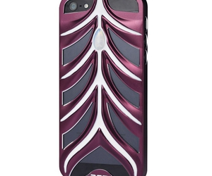 cheap iphone 5 cases and purple & white image