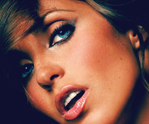 Anahi, blue eyes, and pretty image