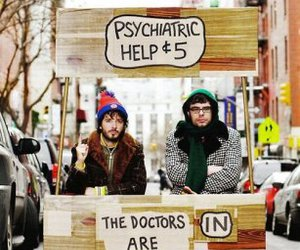 flight of the conchords, funny, and doctor image