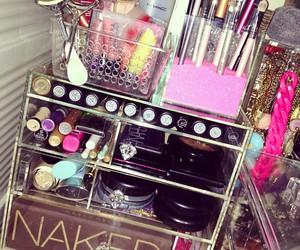 makeup, girly, and naked image