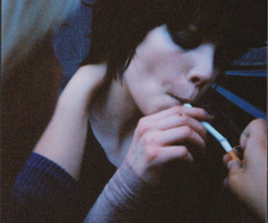 Alice Glass, Crystal Castles, and cigarette image