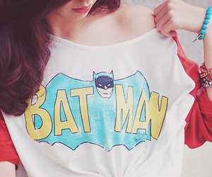 batman, girl, and fashion image