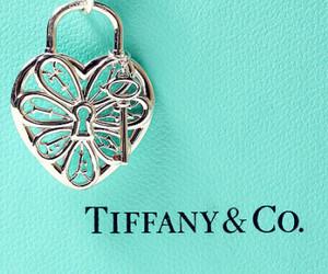 tiffany, heart, and key image