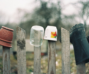 vintage, autumn, and boot image