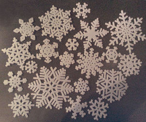 decor, snow, and snow flake image