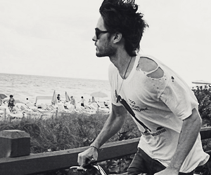 jared leto, boy, and black and white image