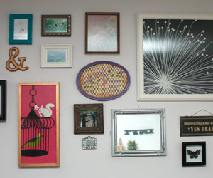 frame, home decor, and paintings image