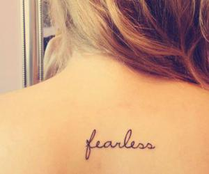 tattoo and fearless image