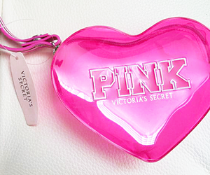 pink, heart, and Victoria's Secret image