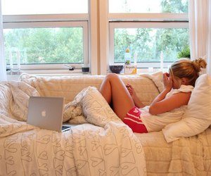 girl and laptop image