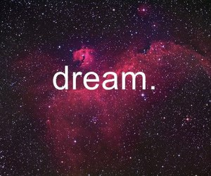 Dream, galaxy, and pink image