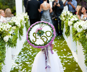 aisle, ceremony, and decor image