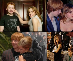 couple, rupert grint, and weasley image