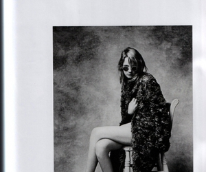 black and white, fashion, and glasses image