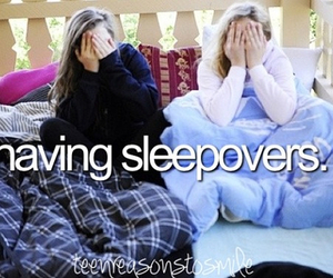 sleepover, friends, and tumblr image