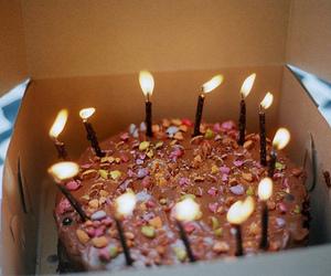 cake, birthday, and vintage image