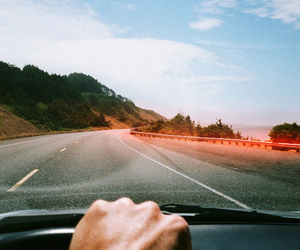 car, road, and tattoo image