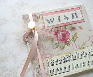 wish, book, and pink image