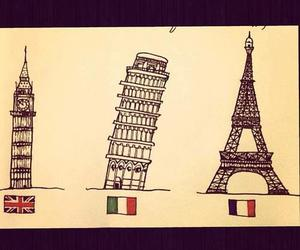 italy, paris, and london image