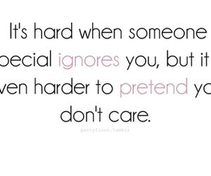 quote, ignore, and pretend image