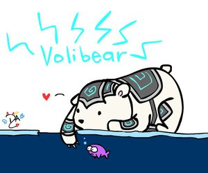 league of legends and volibear image