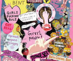 feminism, the simpsons, and get bent image